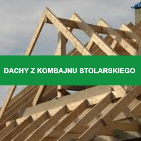 Dachy z kombajnu stolarskiego